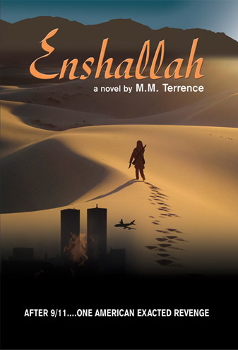 Enshallah - a novel by M.M. Terrence Book Cover